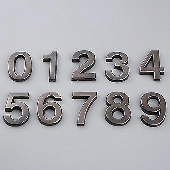 Numero-ovi plakki numero muovinumerot 0-9