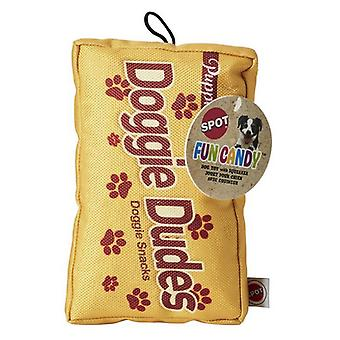 Spot Fun Candy Doggie Dudes Plush Dog Toy - 1 count