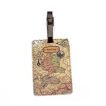 Creative World Map Travel Accessories Luggage Tag