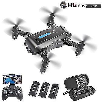 مروحيات التحكم عن بعد قابلة للطي طائرة بدون طيار مصغرة مع كاميرا fpv HD 4K للأطفال الكبار واي فاي RC quadcopter وقت الرحلة 40 دقيقة