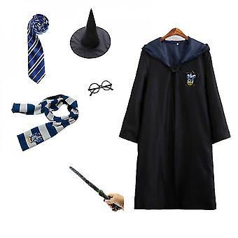 6db Harry Potter varázsló jelmezkészlet Halloween Grffindor köntös köntös karakter felszerelés
