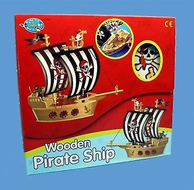 Create Your Own Wood Pirate Ship