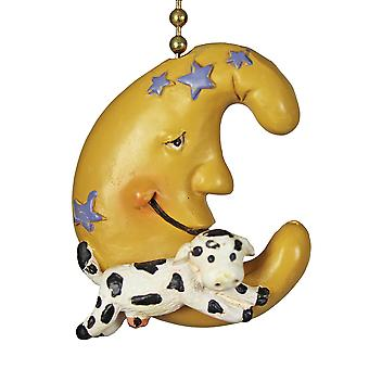 Cow Jumping over the Moon Nursery Rhyme Fan Pull