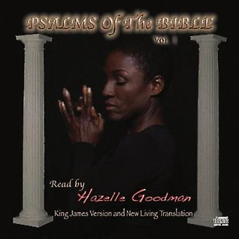 Hazelle Goodman - Hazelle Goodman: Vol. 1-Salmos da importação EUA Bíblia [CD]