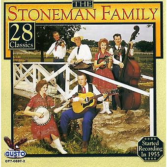 Stoneman familj - 28 klassiker [CD] USA import
