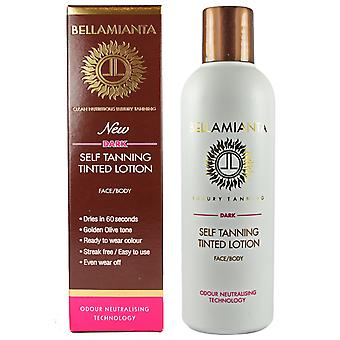 Bellamianta Self Tanning Lotion donker getint
