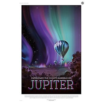 Jupiter NASA Space Tourismus Poster Print Giclee