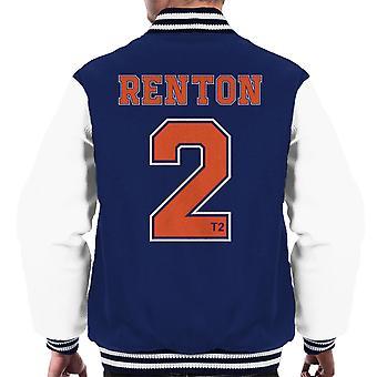 Trainspotting T2 Renton nummer 2 mænds Varsity jakke