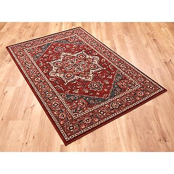 Kashqai 4354 300 Red  Rectangle Rugs Traditional Rugs