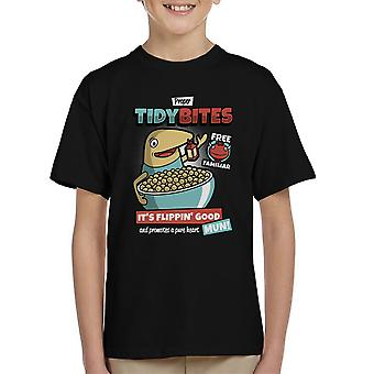 Proper Tidy Bites Ni No Kuni Lord High Cereal Kid's T-Shirt