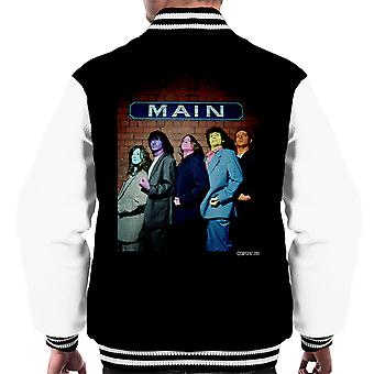 The Zutons Painted Faces Main Men's Varsity Jacket