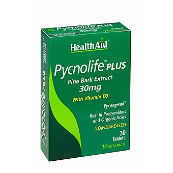 Health Aid Pycnolife Plus - Blister, 30 Tablets