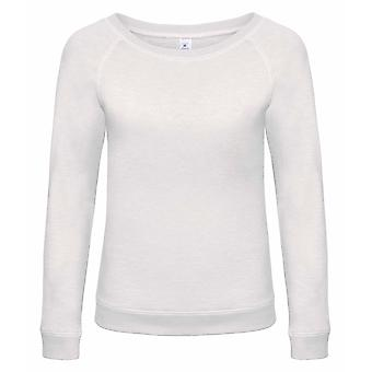 B&C Denim Womens/Ladies Starlight Wide Neck Slub Sweatshirt