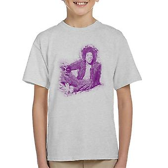 Jimi Hendrix avkopplande i Mayfair 1969 Kid's T-Shirt