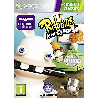 Rabbids Alive and Kicking - Kinect Required (Xbox 360) - Nouveau