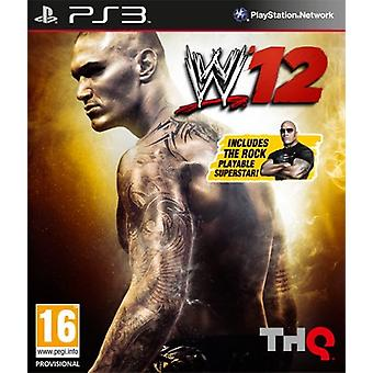 WWE 12 Limited Edition (PS3) - Uusi