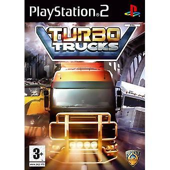 Turbo Trucks (PS2) - Ny fabrik forseglet