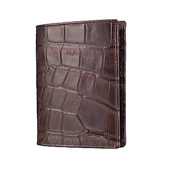 Bugatti Coco miesten lompakko lompakko käsilaukku Brown 4308