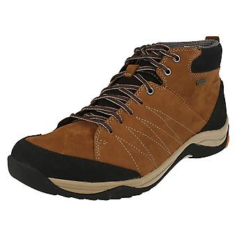 Mens Clarks Lightweight Ankle Boots Baystoneup GTX