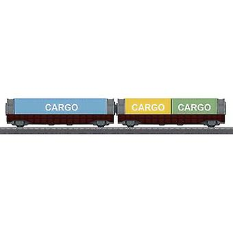 Märklin World 44109 H0 2-pc set container wagon