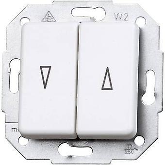 Interruptor de Kopp inserir obturador branco Ártico Europa, Matt 614513080