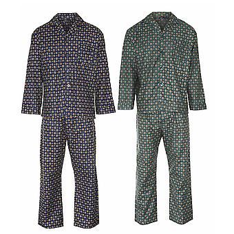 Pijama de algodón de Wyncette campeón diamante para hombre (Pack de 2)