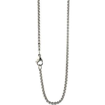 Ti2 Titanium Fine Venetian Inka Chain - Silver