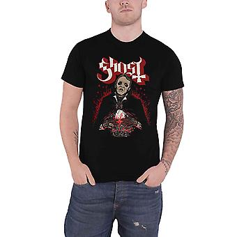 Ghost T Shirt Danse Macabre band Logo new Official Mens Black