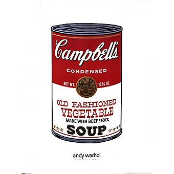 Campbells Soup Poster Print by Andy Warhol (24 x 32)