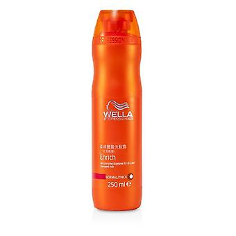 Wella Enrich Moisturizing Shampoo For Dry & Damaged Hair (normal/ Thick) - 250ml/8.4oz