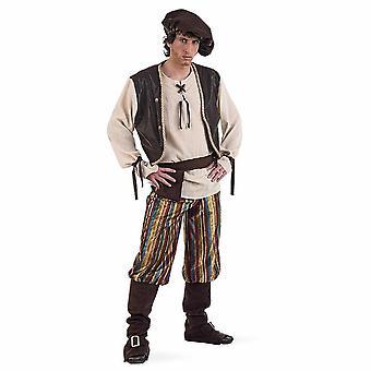 Serviteur de costume médiéval hôte M. Bauer mens costume