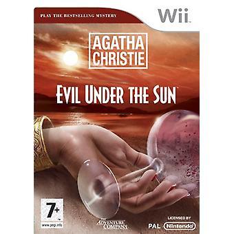 Agatha Christie Evil Under The Sun (Nintendo Wii) - As New