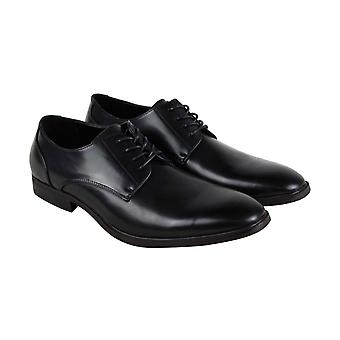 Unlisted by Kenneth Cole Dinner Lace Up Mens Black Dress Lace Up Oxfords Shoes
