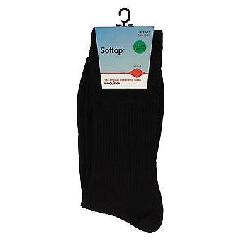 Unisex HJ Halle nicht-elastische Socken Softtop