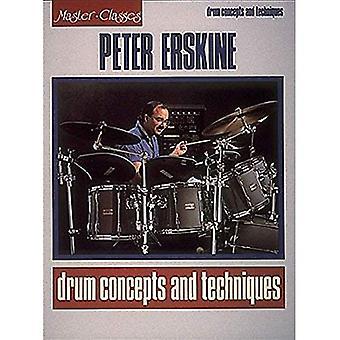 Peter Erskine - trumma koncept och tekniker