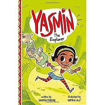 Yasmin im Explorer (Yasmin)