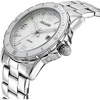 Accurist Quartz analogue watch with stainless steel strap LB 1781.01