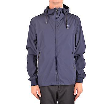 Blauer Ezbc068006 Men's Blue Polyester Outerwear Jacket