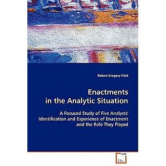 Lagtexter i analytiska situationen av fältet & Robert Gregory