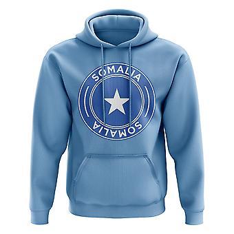 La Somalie Football Badge Hoodie (ciel)