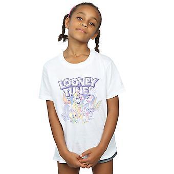 Looney Tunes Girls Rainbow Friends T-Shirt