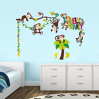 Wall decor-Lovely Monkey 57 x 81 cm