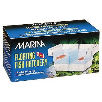 Marina 2 in 1 galleggiante pesce incubatoio