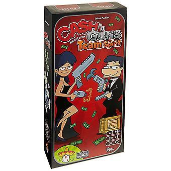 Asmodee Editions Cash N Guns Team Spirit Game