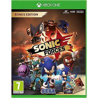 Jeu de Sonic forces bonus Edition Xbox One (boîte en anglais/arabe)