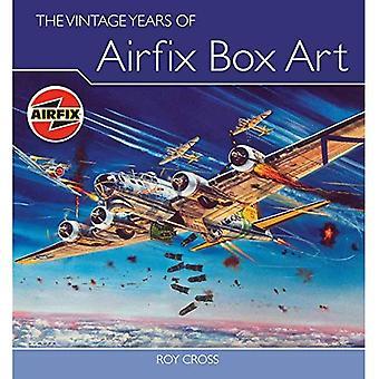 Arte de la caja de los años de la vendimia de Airfix