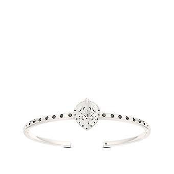 Charlotte Flair Cuff Bracciale In Sterling Silver Design di BIXLER