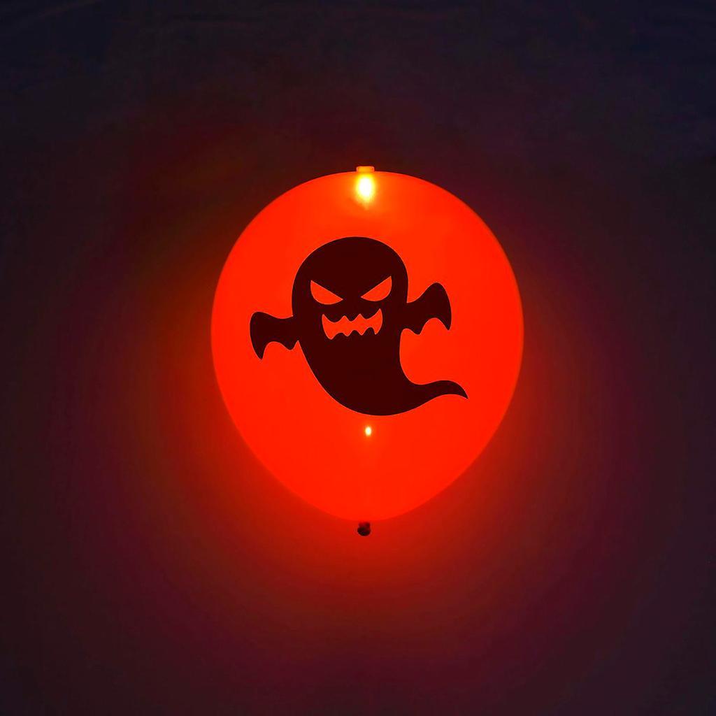 LED Halloween ballonger Orange