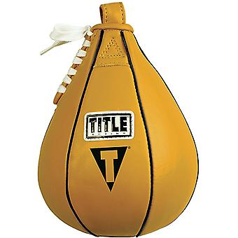 Title Boxing Leather Speed Bag - XS (5