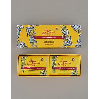 Agua de Colonia Eau De Cologne - Creme Soap Bar (twin Box)
